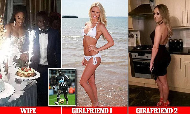 Premier League footballer Papiss Cisse of Newcastle United married Diallo Awa abroad