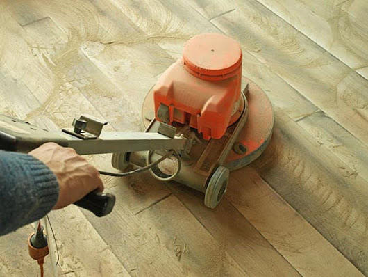 Can you sand and refinish your floor with an orbital sander? | How To Sand A Floor
