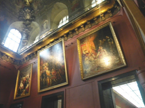 paris louvre müzesi detay