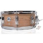 """GRIFFIN Snare Drum – 14"""" x 5.5 Oak Wood Poplar Shell Percussion Head Key Kit Set"""