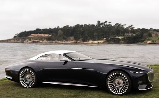 Vision Mercedes-Maybach 6 Cabriolet – Luxury Redefined