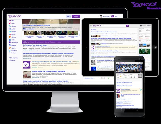 yahoo stream ads ياهوو تقدم وحدتين إعلانيتين جديدتين لزيادة عوائدها من الإعلانات
