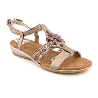 c95d1c54bd27 Easy Spirit Women s  Shesay  Leather Sandals Today  41.99 ...