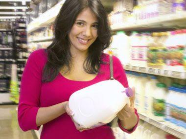secret signs of fitness buying milk