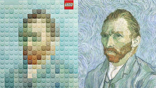 Lego Versions of Famous Artworks Are So Great, They're Now Official Ads