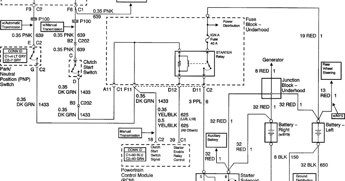 Small Block Chevy Starter Wiring Diagram - Wiring Site