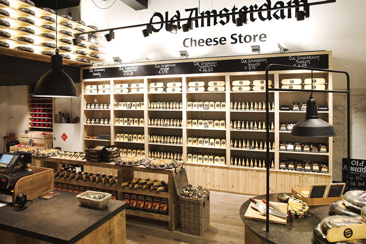 Old Amsterdam Cheese store by studiomfd Amsterdam 02 Old Amsterdam Cheese flagship store by studiomfd, Amsterdam
