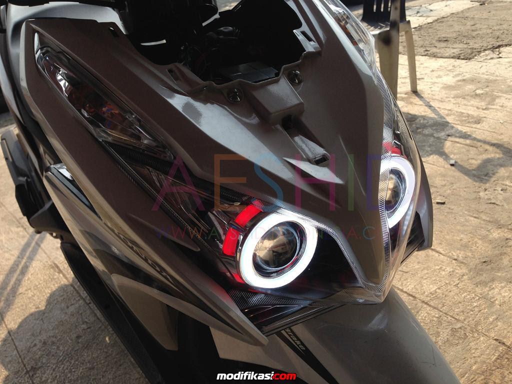 Modifikasi Lampu Motor Vario 125 Dunia Otomotif