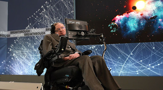 Stephen Hawking: it's time to get the hell off planet Earth