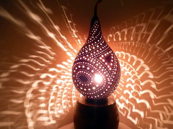 Amazing Art Inspired Gourd Lamps (43)