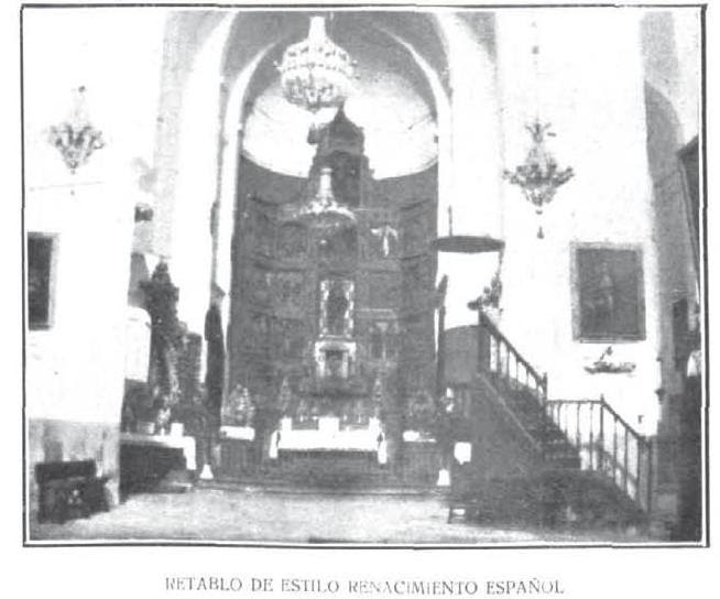 Iglesia de Santiago del Arrabal en 1917. Revista la Ilustración Española y Americana