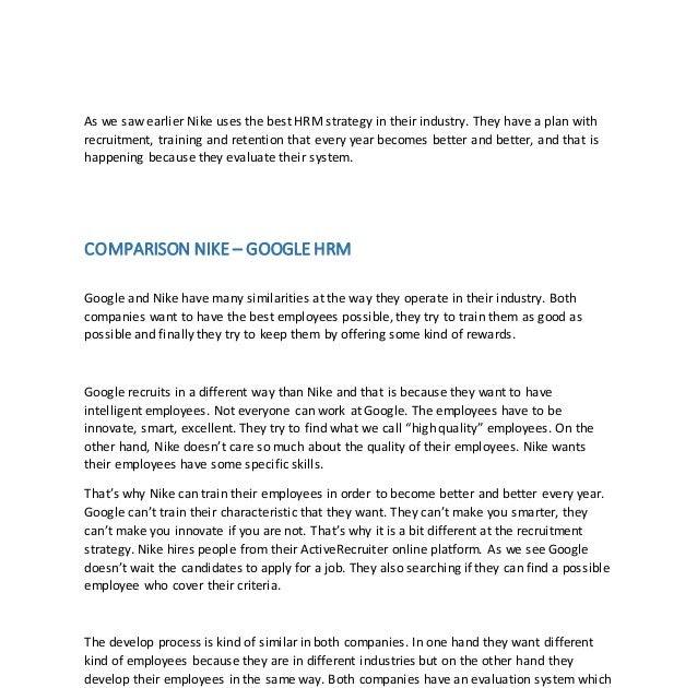 Rendición Incentivo tarta  Human Resource Management of Nike | Management Pedia - Business Management  & Strategy Knowledge Sharing Platform