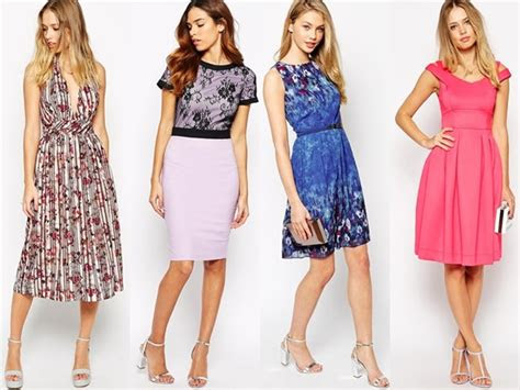 wedding guest dresses  confident women