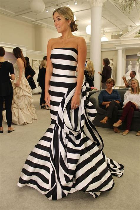 Season 14 Featured Dress: Antonio Riva. Black and white