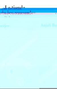 La tienda de los recuerdos perdidos (Anjali Banerjee)