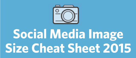 2015 Social Media Image Size Cheat Sheet and Image Tricks | Constant Contact Blogs