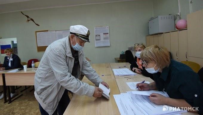 Кожевниковцы голосуют активнее всех на выборах