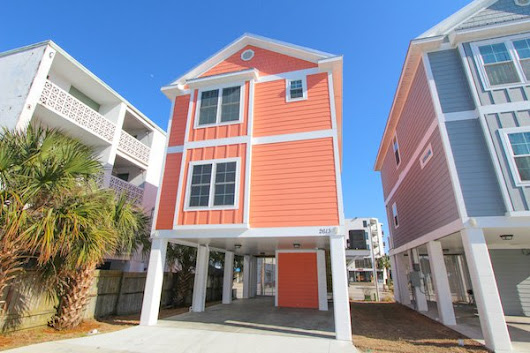 South Beach Cottages Myrtle Beach, SC - Vacation Home Rentals