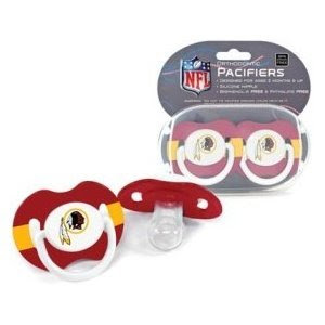 NFL Washington Redskins 2 Pack Pacifier