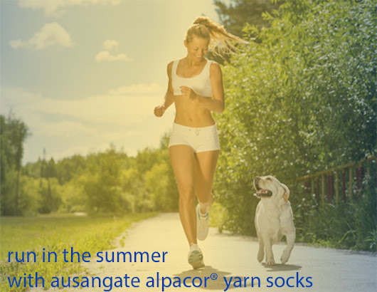 Why We Love Summer Running With Alpaca Fiber Socks (And You Should, Too!)