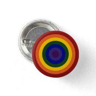 Rainbow Bullseye button