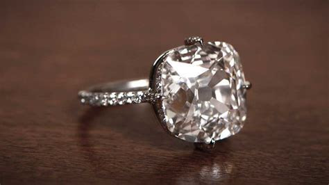 Buying a 5 Carat Engagement Ring   Estate Diamond Jewelry