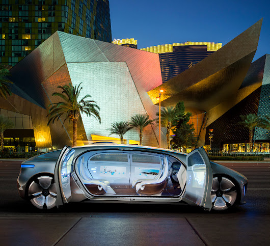 Mercedes-Benz F 015 World Premiere - Mercedes-Benz