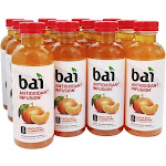 Bai Antioxidant Infusion, Costa Rica Clementine - 12 pack, 18 fl oz bottles