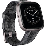 Fitbit Versa 2 Special Edition - Smart Watch with Heart Rate Monitor - Charcoal