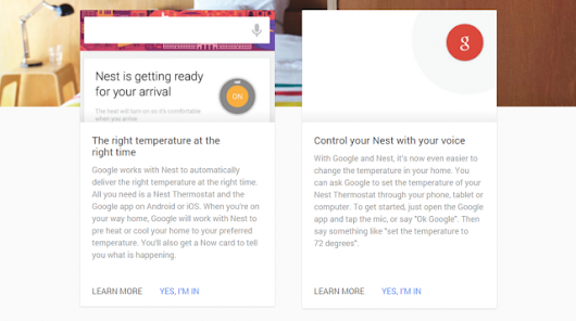 Nest Thermostat gets Google voice commands, Google Now integration