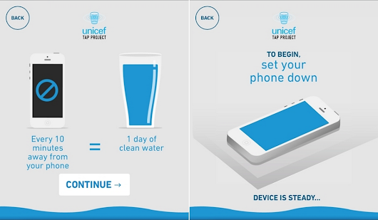 Don't Touch Your Phone for 10 Minutes, Provide a Day of Clean Drinking Water For a Child In Need