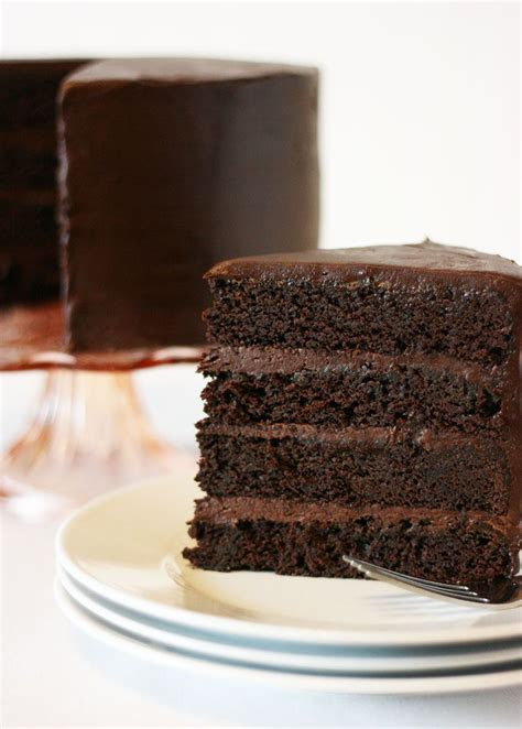 American Mud Cake this rich, moist cake is full of intense