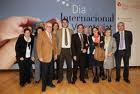 Fotografia de l'entrega del la XVIIa edició del Premi del Voluntariat