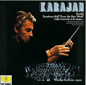 KARAJAN, HERBERT VON dvorak, anton; symphony no.9