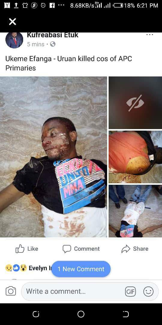 Blood Bath, As Akwa Ibom APC Primaries End In Violence (Graphic Photos)