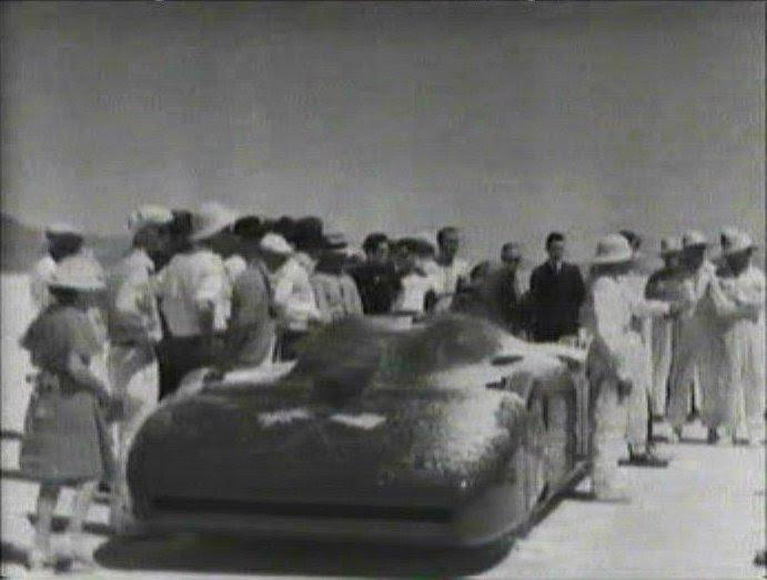 1935 Campbell-Railton Rolls-Royce Bluebird World land speed record car