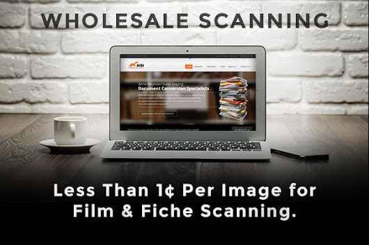 Microfilm and Microfiche Scanning Less Than 1 Cent Per Image