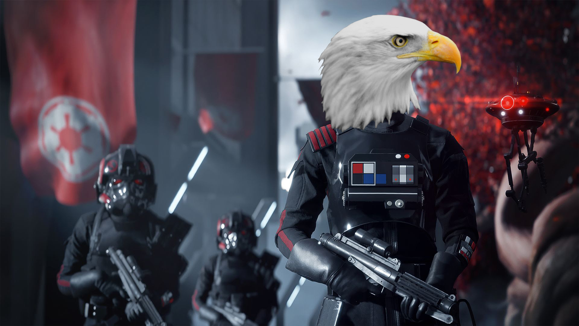 5 Star Wars games that would be better with an American Bald Eagle screenshot