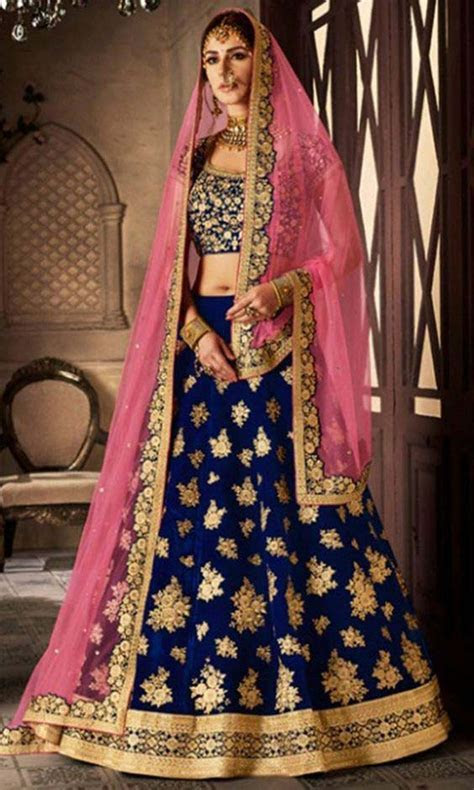 Latest Asian Bridal Crop Top Lehenga Designs   Stylo Planet