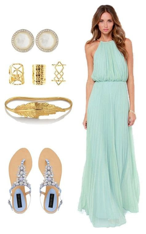 Wedding guest: beach formal   My Polyvore Finds   Beach