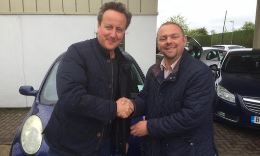 David Cameron buys used Nissan Micra for wife Samantha – in blue