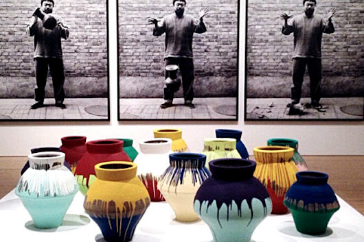 Ai Weiwei's smashed ancient urns - Antiquities Trafficking and Art Crime - University of Glasgow