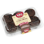 Katz Gluten Free Chocolate Cupcakes Case of 6