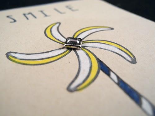 Pinwheel Smile Card (detail)