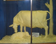butter cow