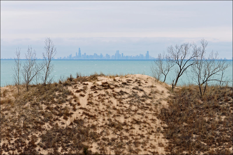 Across Lake Michigan