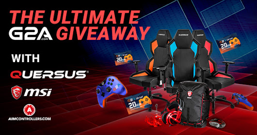 The Ultimate G2A Giveaway with Quersus, MSI and AimControllers!