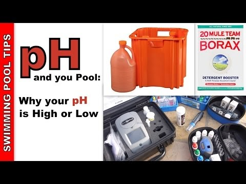 Pool Tips Troubleshooting Reviews Ph And Your Pool Why Is Your Ph High Or Low