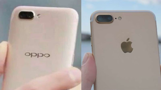 OPPO's Upcoming Smartphone Looks Like an Ugly Copy of iPhone 7 Plus