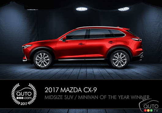 "Mazda CX-9 wins Auto123.com award, ""Car and Driver"" honour"